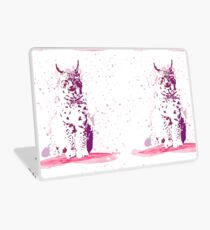 The Lynx – A Face of Wisdom Laptop Skin