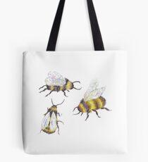 bumble bees Tote Bag