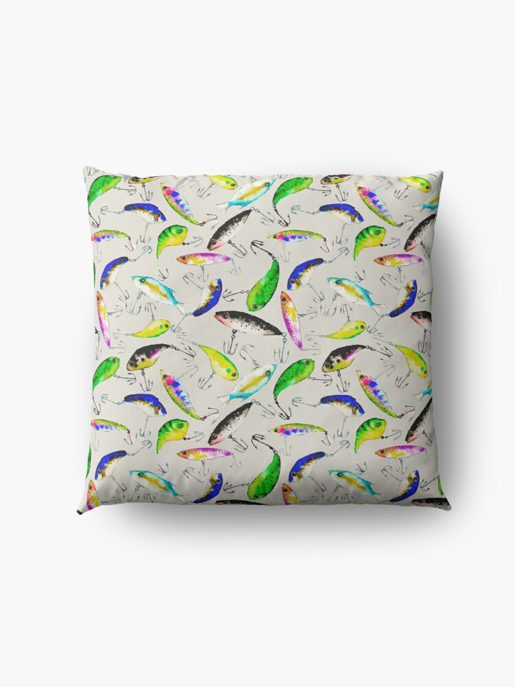 Alternate view of Fishing is Fly Floor Pillow
