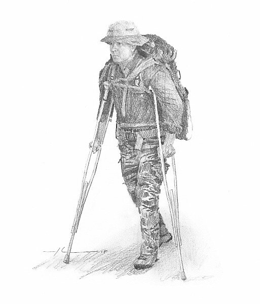 field scientist drawing 8 by Mike Theuer