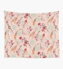 Japanese Garden Wall Tapestry