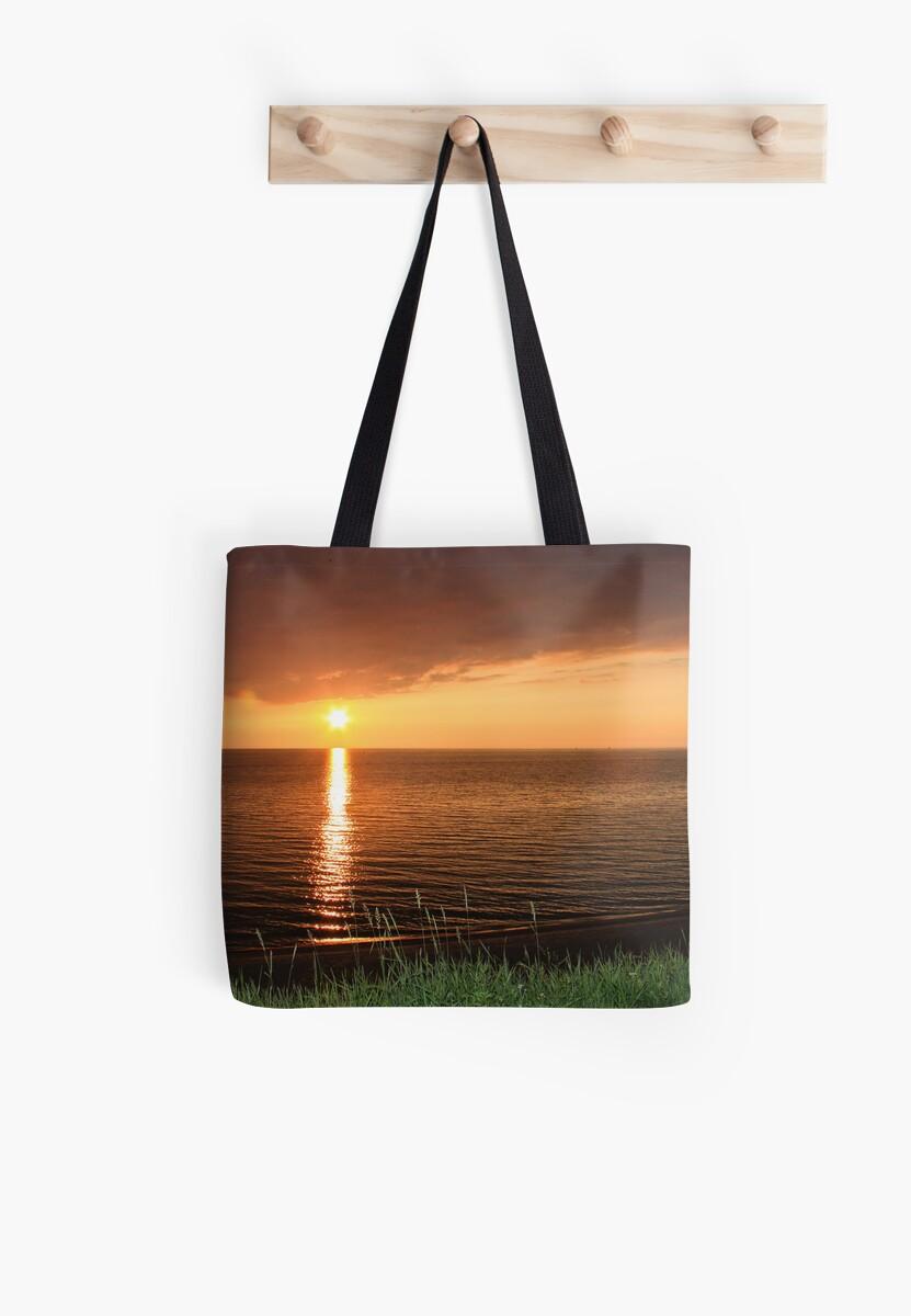 Lake Michigan Sunset, South Haven, MIchigan by Robert Kelch, M.D.