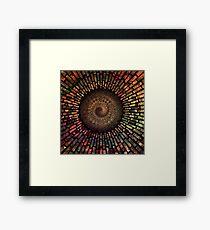 Fibonacci Sacred Mandala Framed Print