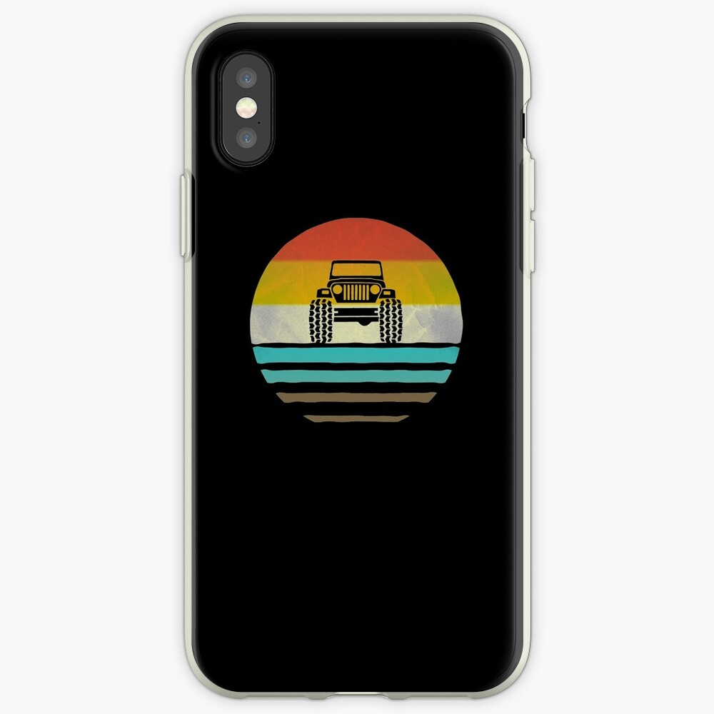 Retro Vintage Jeep Lover Owner Gift iPhone Cases & Covers