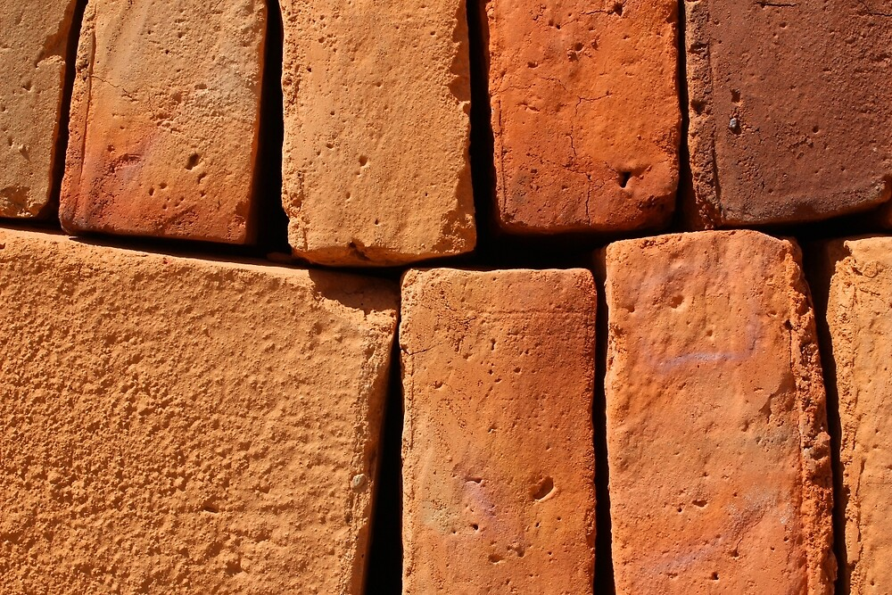 Adobe Brick Patterns by rhamm