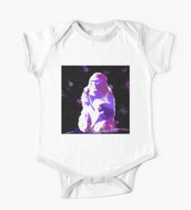 The Snow Monkey Short Sleeve Baby One-Piece