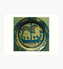 Persian vessel Art Print