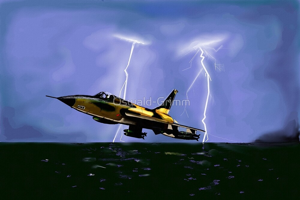 Thunderchief and Lightning 1966 by Oswald-Grimm