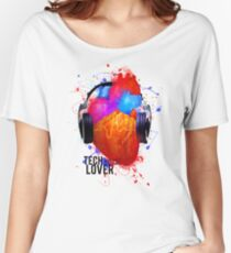 No Music - No Life (Tech House Lover) Women's Relaxed Fit T-Shirt