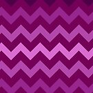 Very Berry Chevron by TimorousEclectc