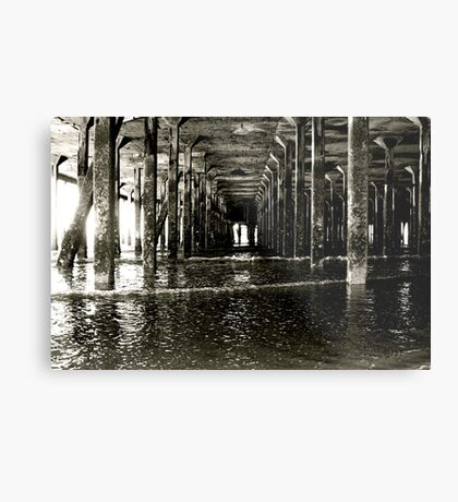 Under the Pier (Clacton) Metal Print