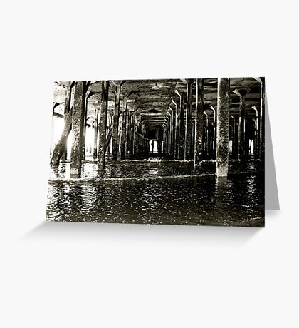 Under the Pier (Clacton) Greeting Card
