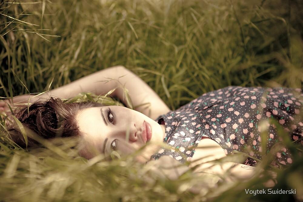 if I lay here by Voytek Swiderski