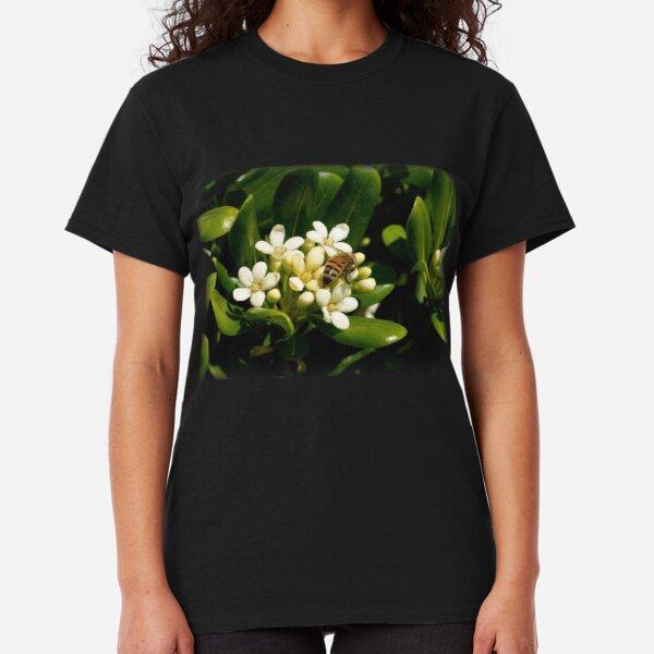 Honeybee at Her Springtime Work Classic T-Shirt