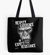 VeganChic ~ Respect Existence Tote Bag