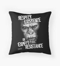 VeganChic ~ Respect Existence Throw Pillow