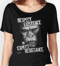 VeganChic ~ Respect Existence Relaxed Fit T-Shirt