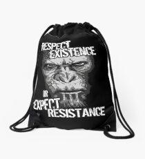 VeganChic ~ Respect Existence Drawstring Bag