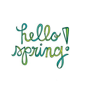 Hallo Frühling!! von mschmidtdesigns