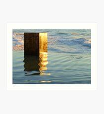 Pool Block  Art Print
