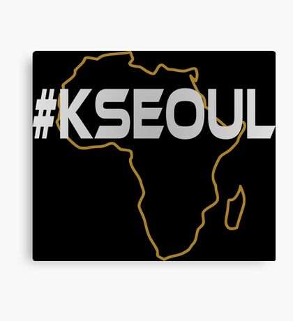 #KSEOUL Third Culture Series Canvas Print