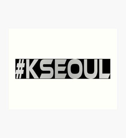 #KSEOUL Third Culture Series Art Print