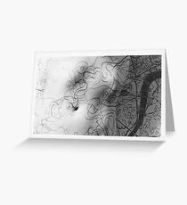 Body Maps - Mixed Maps - Torso Greeting Card