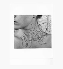 Body Maps - Tower Hamlets - Neck Photographic Print