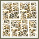 Paper Paisley Scarf by -Patternation-