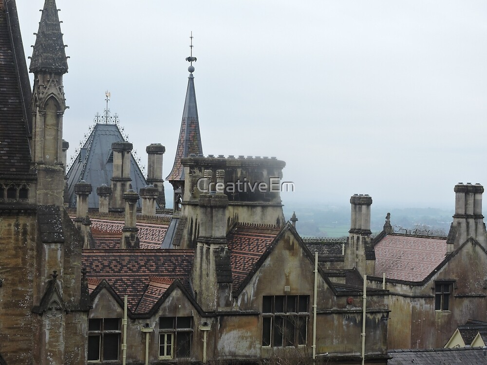 Magical Rooftops by CreativeEm