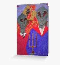 A Martian Gothic Greeting Card