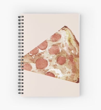 Slice of Pepperoni Pizza Spiral Notebook