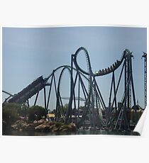 The Incredible Hulk Coaster Poster