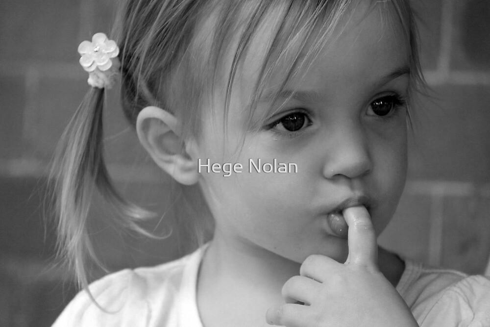 pondering in comfort by Hege Nolan