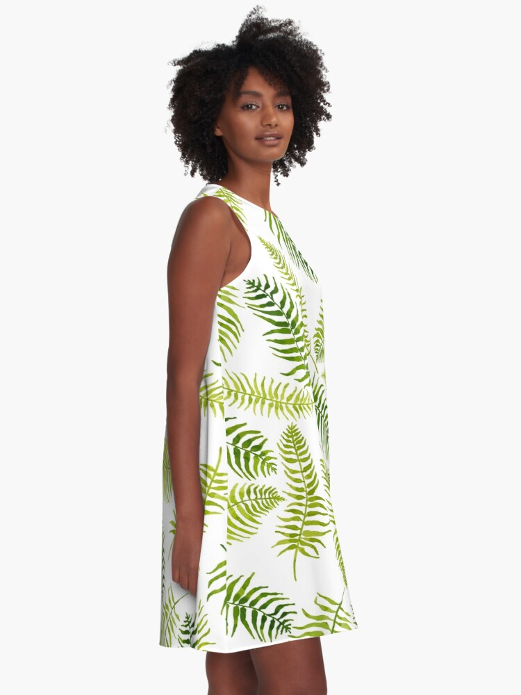 Alternate view of Fern Limelight A-Line Dress