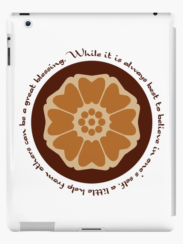 White Lotus Iroh Quote Ipad Case Skin By Orangeturtle Redbubble