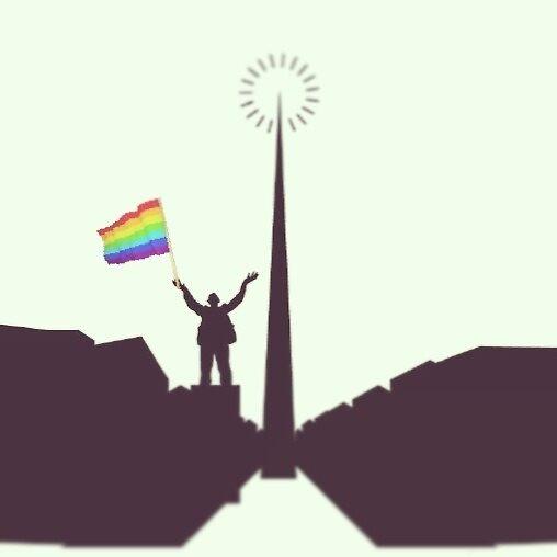 A-Spire! Pride!  by Rachel Mathews-Mckay