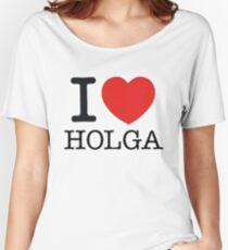 I ♥ HOLGA Women's Relaxed Fit T-Shirt