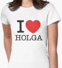 I ♥ HOLGA Womens Fitted T-Shirt