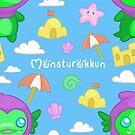 Monsturokkun - Goji Pattern by ArtsAflame