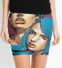 Gappy JJBA Mini Skirt