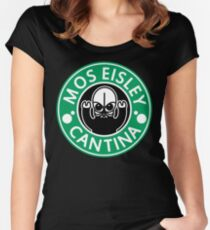 Mos Eisley Cantina Women's Fitted Scoop T-Shirt