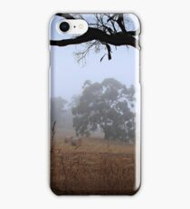 Foggy Summer Evening, Mount Barker iPhone Case/Skin
