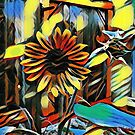 Dreaming of Sunflowers III by dthunderhawk
