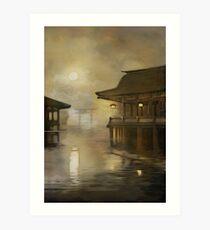 Itsukushima  Art Print