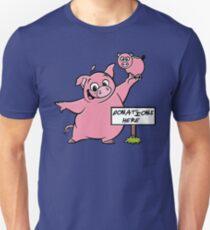 Donations Here Unisex T-Shirt