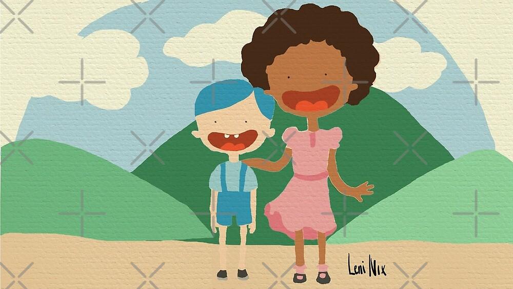 Happy kids by leni-nix