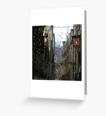 You Are Here - Venice in Christmas time Greeting Card