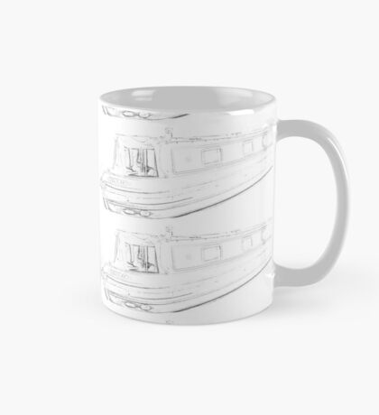 narrowboat pattern - no problem Mug