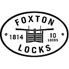 Foxton Locks Plaque  by bywhacky